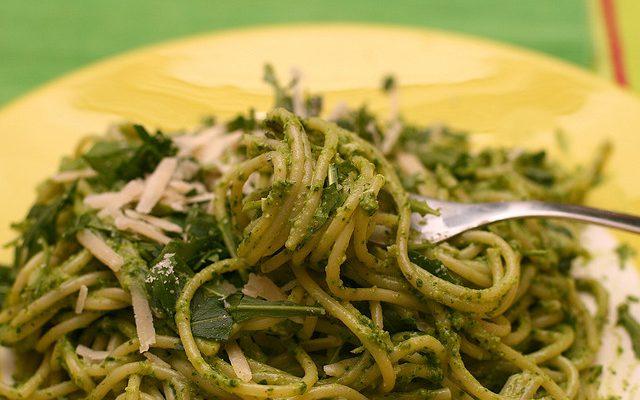 La pasta con rucola e ricotta con la ricetta veloce