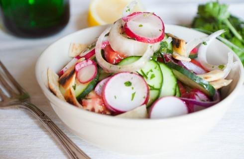 Fattoush, insalata libanese