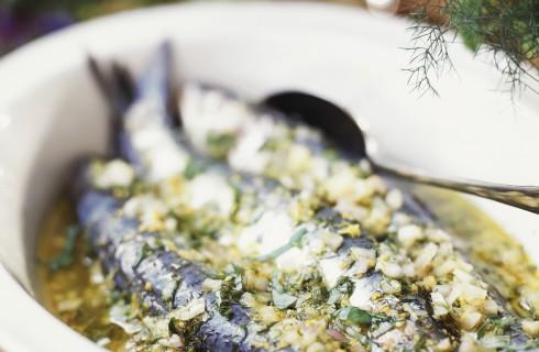 Sarde marinate, cucina siciliana