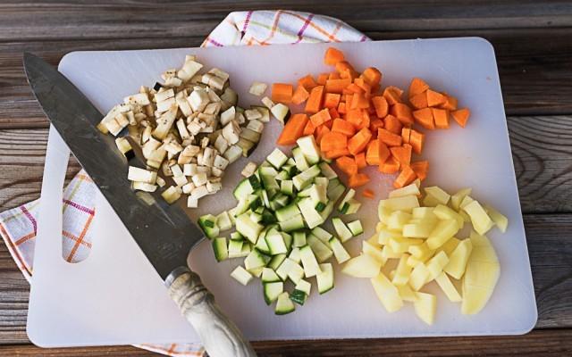 Fregola con verdure step (1)
