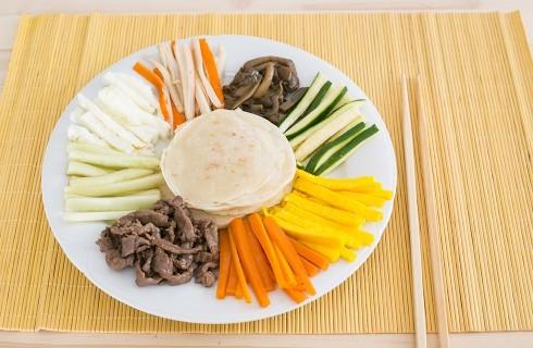 Kujolpan: ricetta coreana