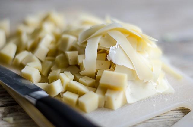 Paccheri verza patate e bitto-4