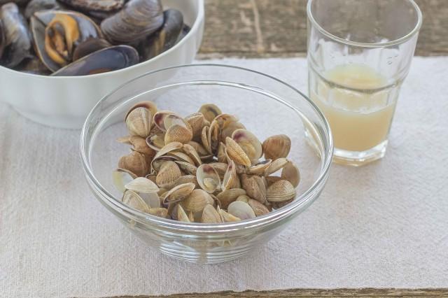 Step 2 zuppa ai frutti di mare
