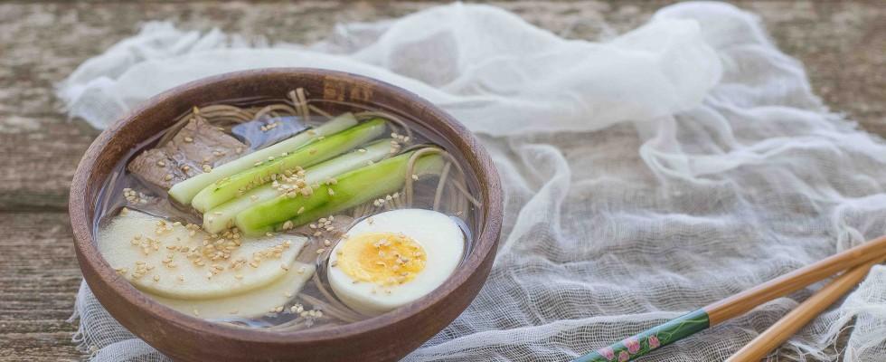Mul naengmyeon: zuppa fredda coreana