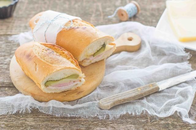 Still life 2 sandwich cubano