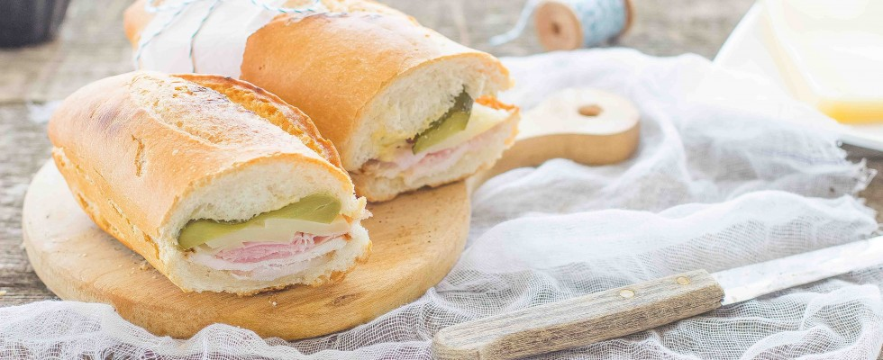 Sandwich cubano: panino goloso