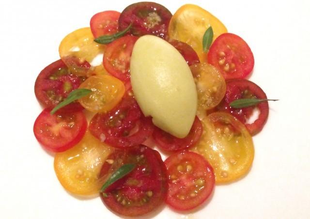 Arlecchino di pomodori