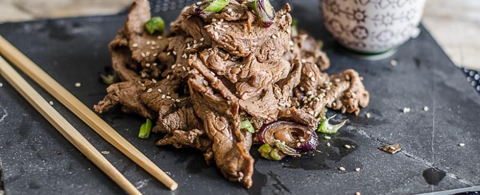 Bulgogi, straccetti di carne alla coreana