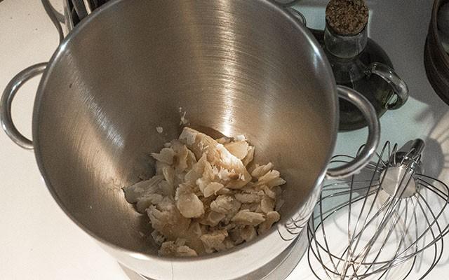 crocchette di baccalà mantecato step2