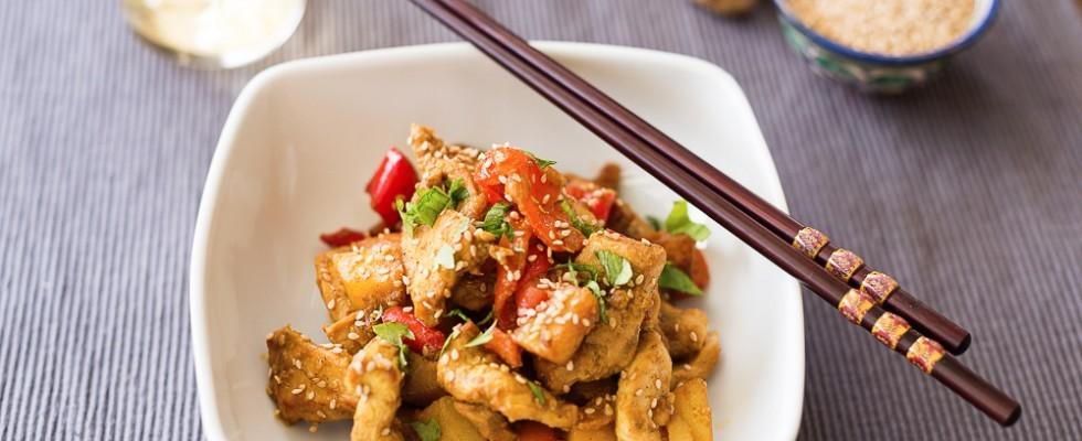 Dakgalbi: pollo marinato coreano