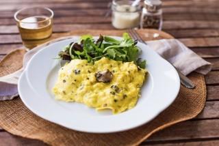 Frittata morbida al tartufo: prelibata