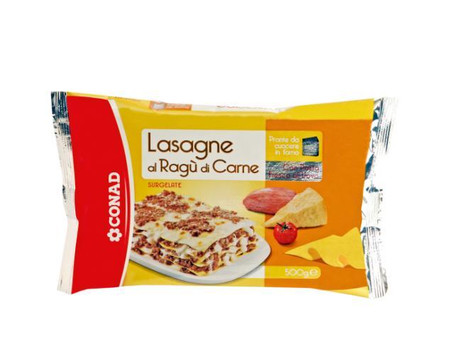 lasagne conad
