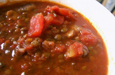 Lenticchie al pomodoro: la ricetta gustosa con il Bimby