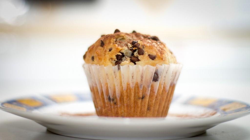 Ricetta Muffin Senza Latte.I Muffin Con Le Gocce Di Cioccolato Nella Ricetta Senza Latte Gustoblog