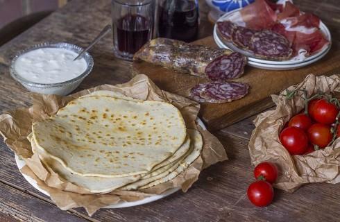Piadina senza glutine fatta in casa