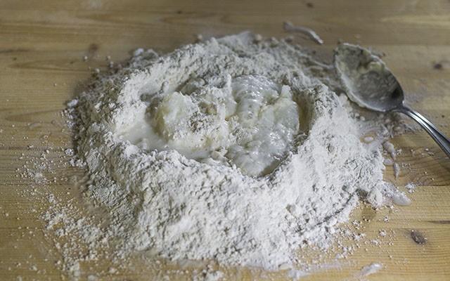 piadina senza glutine step1