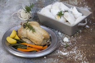 Come preparare il pollo al sale