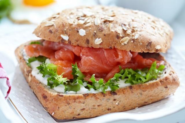 panino al salmone