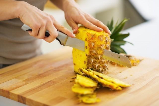 pulire l'ananas