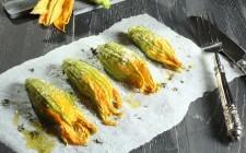 Di stagione: come cucinare i fiori di zucca