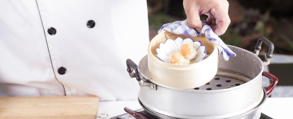 Aspettando Taste of Roma: la cottura al vapore perfetta