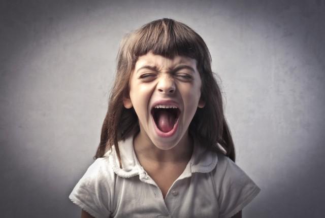 Bambini arrabbiati