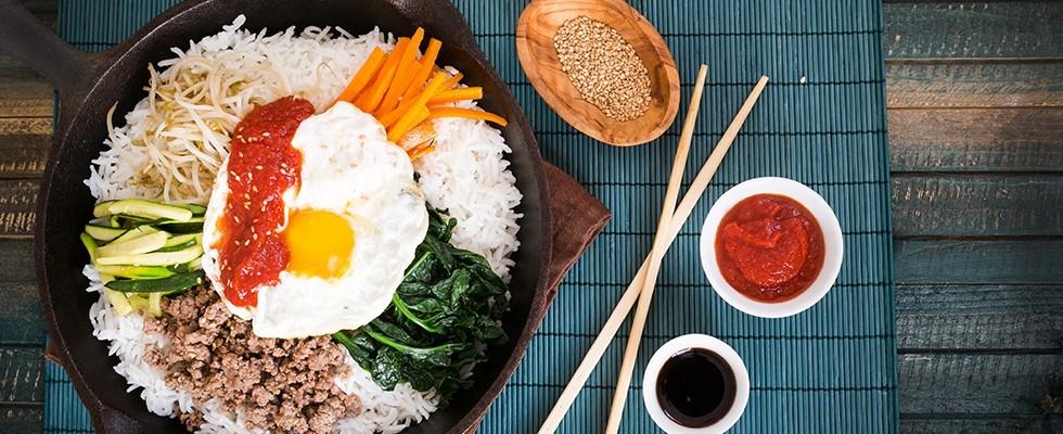 Bibimap: piatto unico coreano