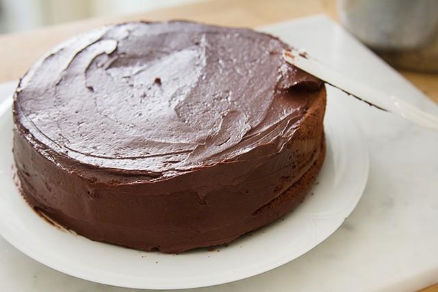 torta ferrero rocher step (3)