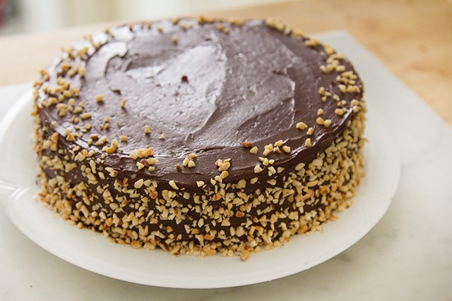torta ferrero rocher step (4)