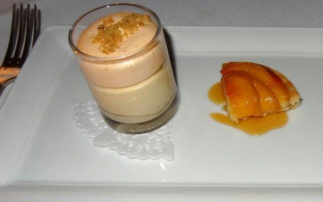 La mousse di cachi e mascarpone per il dessert di fine pasto