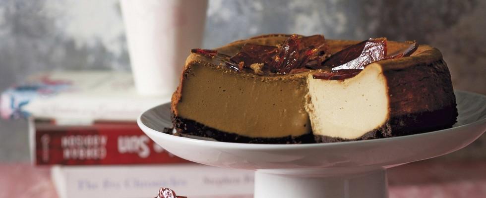 Cheesecake al cappuccino, per il fine pasto
