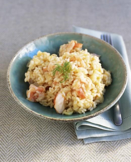 160 risotto gamberi e finocchi