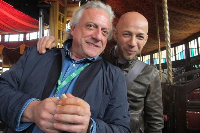 Davide Scabin e Riccardo Camanini