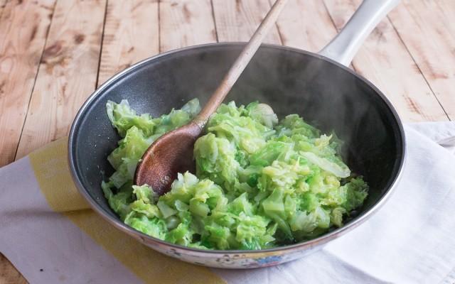Pasta con la verza step (3)
