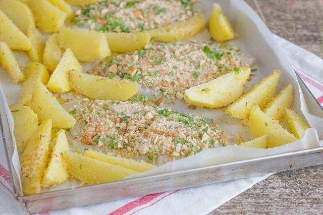 Ricetta Orata Gratinata Con Patate.Ricetta Orata Al Forno Con Patate Agrodolce