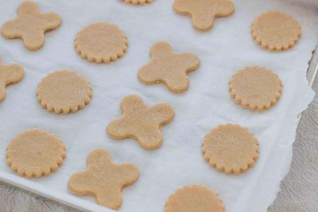 Step 4 biscotti con farina di castagne