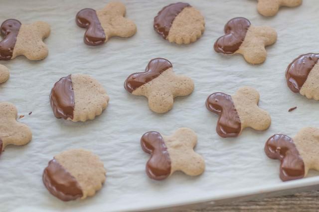 Step 6 biscotti con farina di castagne