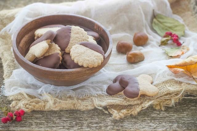 Still life 3 biscotti con farina di castagne