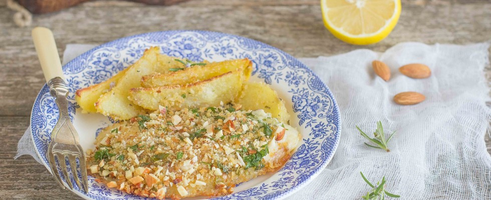 Orata gratinata al forno con patate