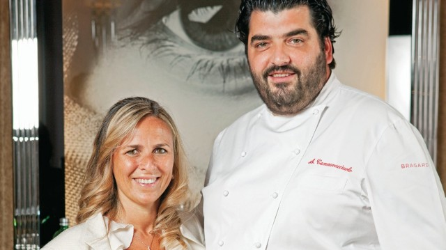 Chef Cannavacciuolo e la moglie Cinzia