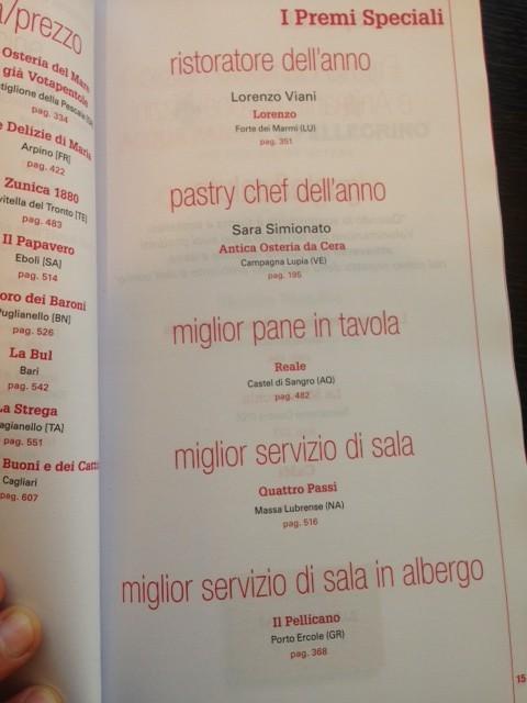 Ristoranti d 39 italia 2016 gambero rosso la diretta agrodolce for Grotta palazzese restaurant menu