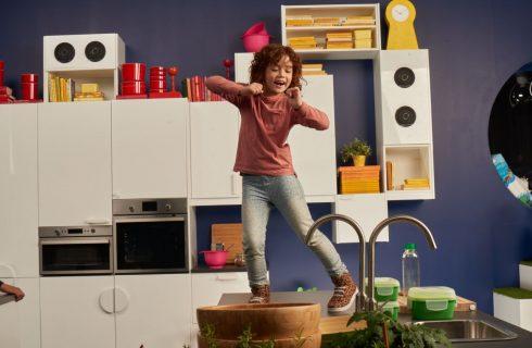 Le 5 regole di Ikea per far divertire i bambini in cucina