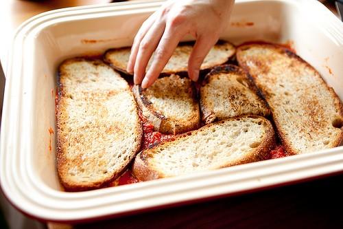 lasagna di pane