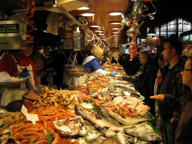 mercato del pesce bari