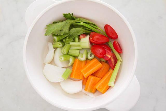 minestra di semolino step (1)