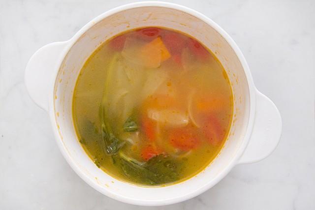 minestra di semolino step (2)