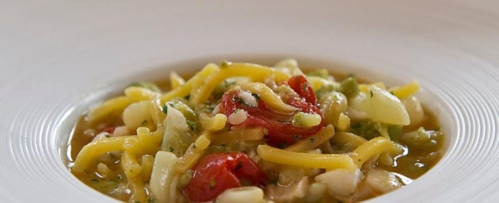 Broccoli e arzilla: l'espressione della cucina casalinga romana