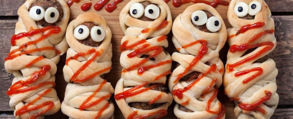 Le ricette degli antipasti di Halloween per una cena spaventosa
