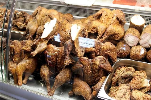 pollo affumicato