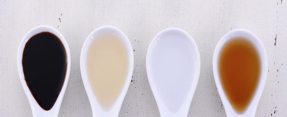 Ingredienti fondamentali: tutti i tipi di aceto